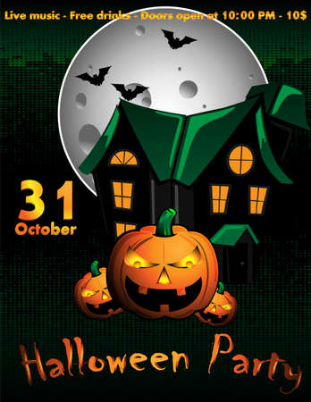 halloween flyer royalty free cliparts vectors and stock