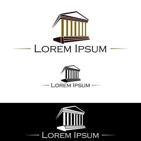 abogado: Icono para abogados y bufetes de abogados Vectores