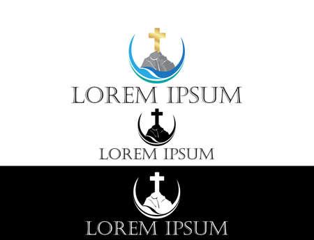 religious icon: Icono religioso Vectores