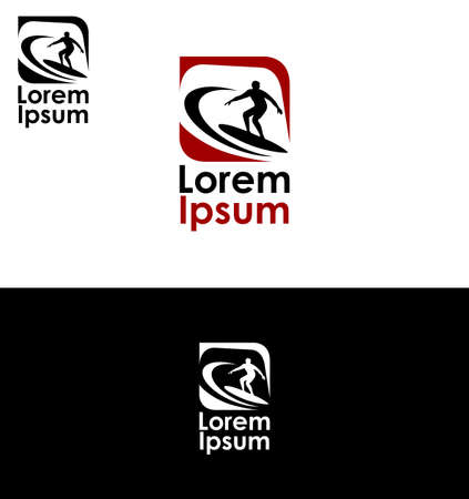 extreme sports: Icon for surfing and extreme sports