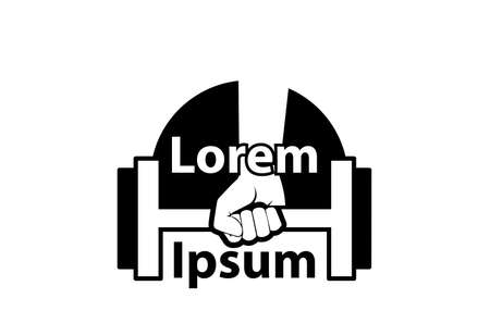 Icon for bodybuilding and fitness