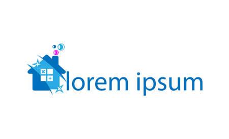 Visual identity for cleaning firms Ilustração