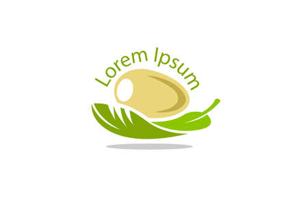 Egg on a leaf depicting a new life