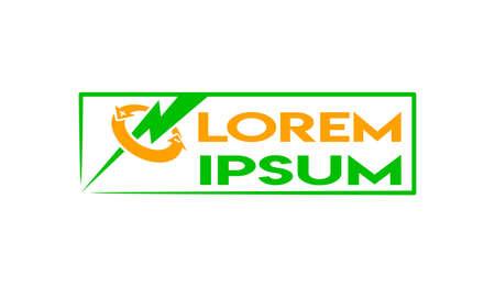 Icon for green energy producers Ilustração