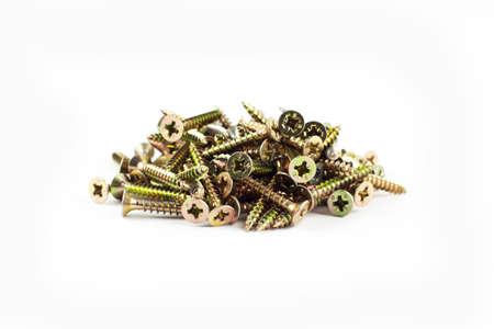 fastening: Wood fastening screws