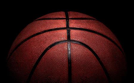Partie de ballon de basket