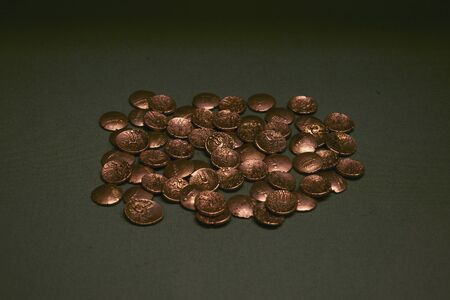 Ancient Gold coins hoard