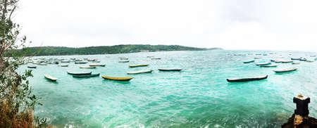 bali beach: There is a seaweed in a bottom Beautiful Bali Beach Stock Photo