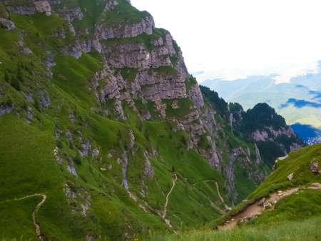 Beautiful mountain landscape,Bucegi Mountains,Romania