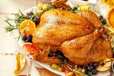 pavo: Cena de Gracias