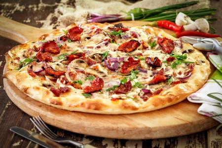 fresh  baked: Pizza