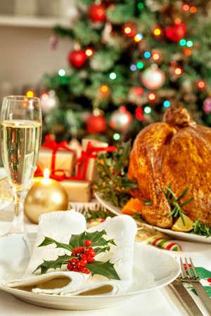 turquia: Mesa de la cena de Navidad Foto de archivo