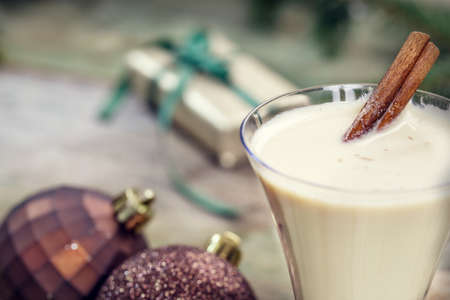 punch spice: Eggnog cocktail for Christmas and New Year