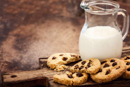 home baked: Home Baked Cookies with Dark Chocolate