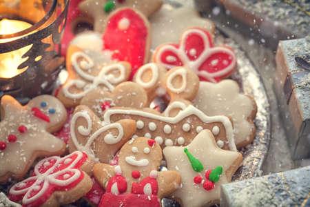 gingerbread cookies: Christmas gingerbread cookies decoration