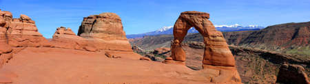 arches national park: Panorama Delicate Arch, Arches National Park,Utah, USA