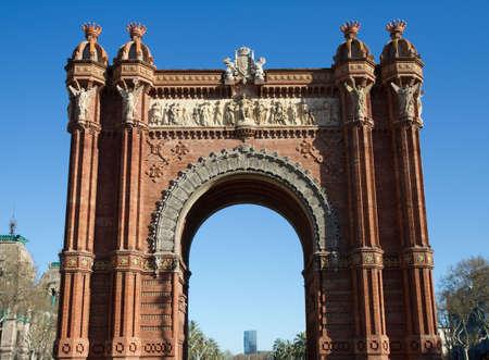 Triumphal Arch - Arc de Triomf, Barcelona, Spain photo