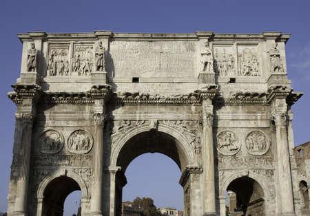 constantine: Roman Arch of Emperor Constantine
