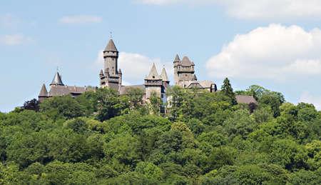 hessen: Panorama of Medieval Castle Braunfels, Hessen, Germany Stock Photo