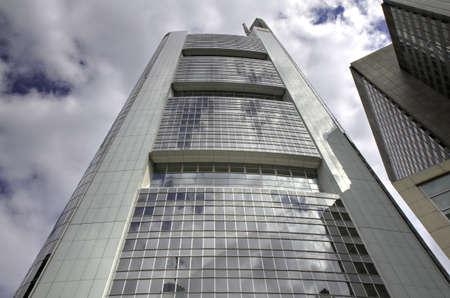 Modern Skyscraper in the Financial District, Frankfurt, Germany Stock Photo - 7384106