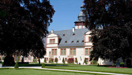 Park of Baroque Residence Weilburg with Old Trees, Hessen, Germany Stock Photo - 7384124