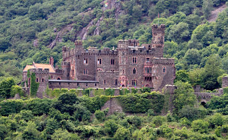 Medieval Castle Reichenstein, Rhine valley, Germany