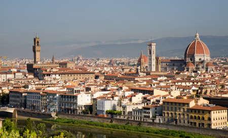 Cityscape - Panorama of Florence, Tuscany, Italy Stock Photo