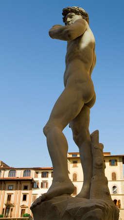 Renaissance sculpture of David, Florence, Tuscany, Italy photo