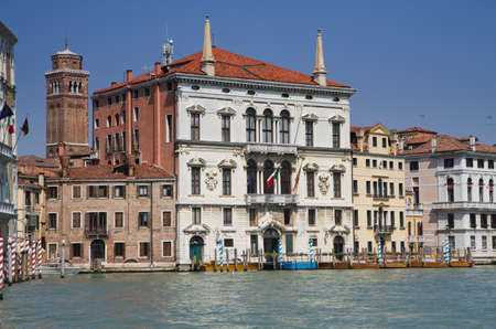 Palazzo Balbi - 16th century palace at the Grand Canal, Venice, Italy photo