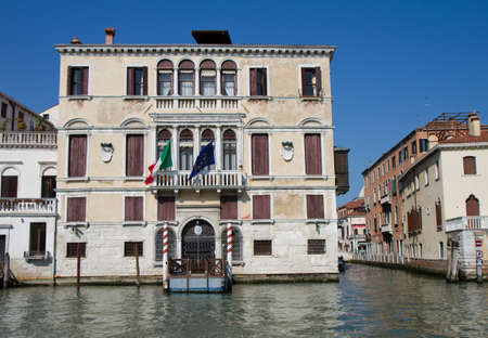 Palazzo Gussoni Grimani - 16th century palace at the Grand Canal, Venice, Italy
