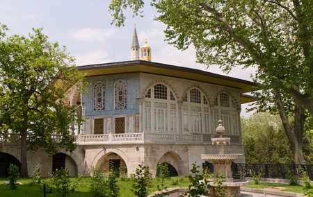 Baghdad Kiosk in the Topkapi palace, Istanbul, Turkey