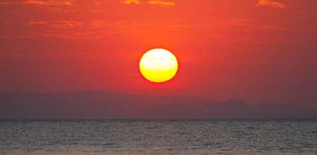 Sunset over Lake Victoria, Tanzania, Africa