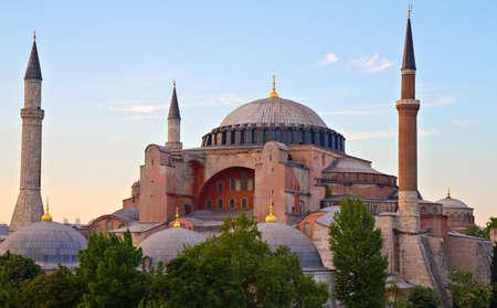 hagia sophia: Famous Byzantine Church Hagia Sophia, Istanbul, Turkey