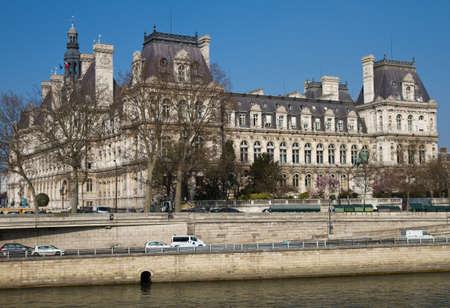ville: Hotel de Ville of Paris, France