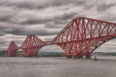 forth: Firth of Forth Bridge - HDR version, Scotland, United Kingdom