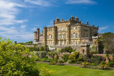 연합 왕국: Culzean 성, 스코틀랜드, 영국의 정원 에디토리얼