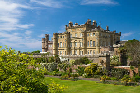 Garden of the Culzean Castle, Scotland, United Kingdom