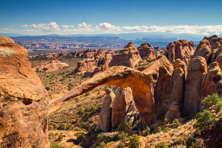 arches national park: Landscape Arch, Arches National Park, Utah