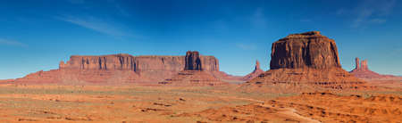 Panorama of the Monument Valley, Arizona, United States
