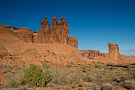 arches national park: Three Gossips at Arches National Park, Utah