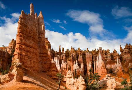 Hoodos Queens Garden Stone, Bryce Canyon National Park, Utah