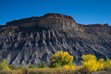 mesa: Black Mesa Rock, Utah
