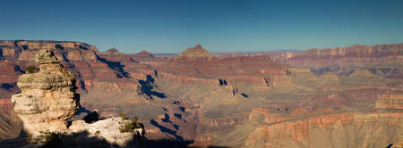 Panorama of the Grand Canyon South Rim, Grand Canyon National Park, Arizona, USA photo