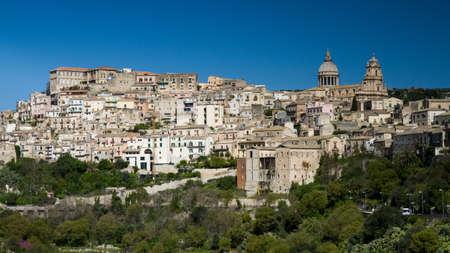 ragusa: Panorama of Ragusa, Sicily, Italy
