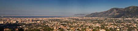 Panorama de Palermo, Sicilia, Italia Foto de archivo - 19661869