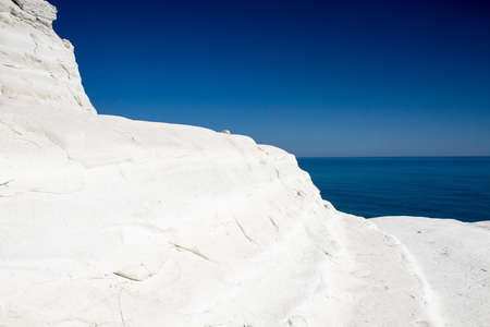 White Cliffs at Scala dei Turchi, Sicily, Italy