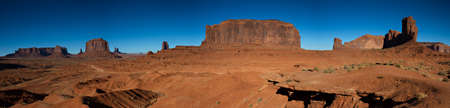Panorama of the Monument Valley, Arizona, USA Imagens