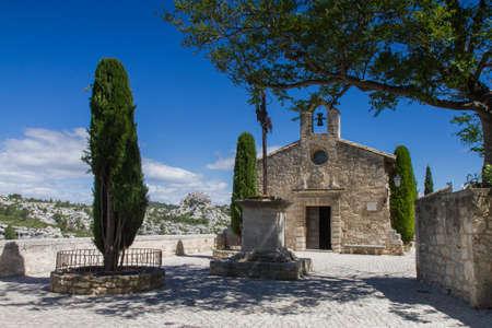 レ ボー ・ ド ・ プロヴァンス、プロヴァンス、フランスの小さな教会