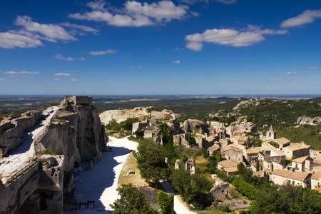 Cityscape of Les Baux De Provence, Provence, France