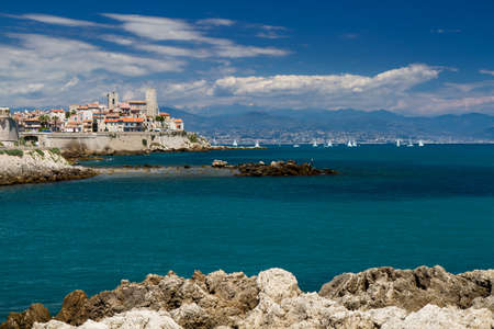 ramparts: Cityscape of Antibes, Provence, Cote d
